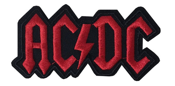 AC/DC Aufnäher Badge Angus Young