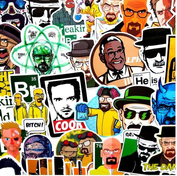 Stickerset Breaking Bad Stickerbomb Cook