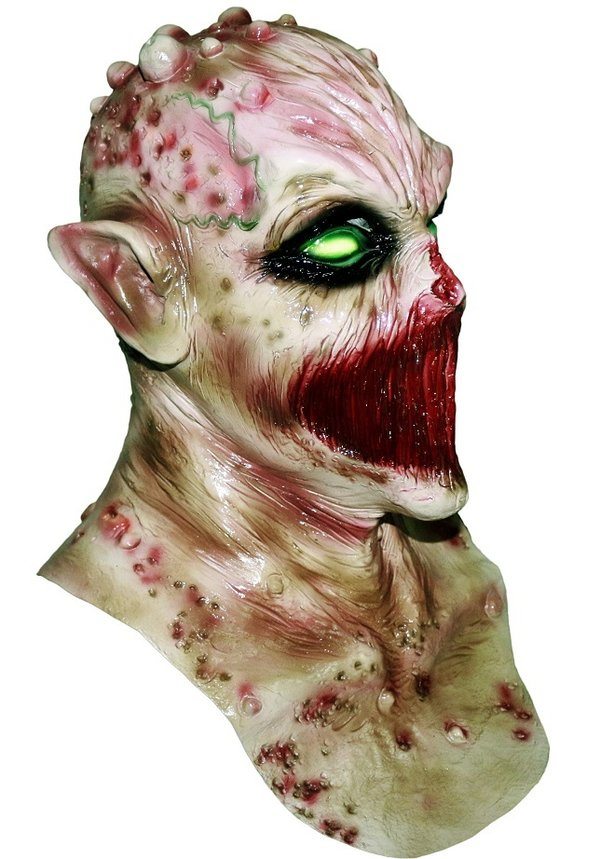 Zombie Maske Freak Monster Blut