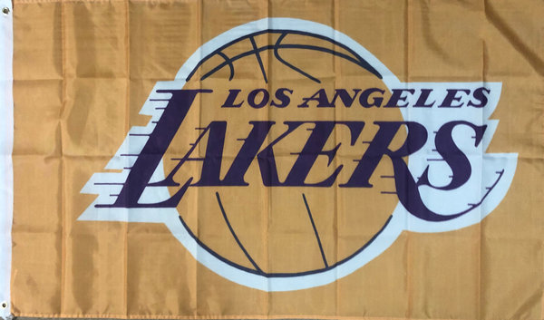 Fahne LA Lakers Basketball 150 x 90 cm