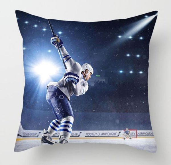 Kissenbezug Eishockey Ice Hockey 45 x 45