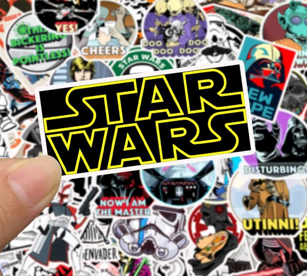 Star Wars Stickerset Stickerbomb Kleber