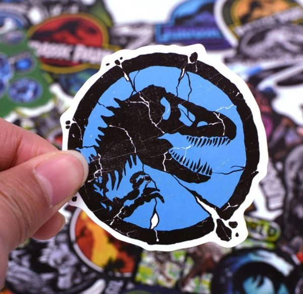 Jurassic Park World Stickerset DVD Video
