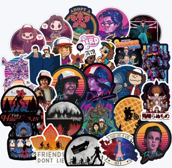 Stranger Things Stickerset Sickerbomb