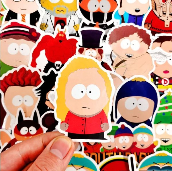 50 tlg Stickerset South Park Comic Kenny